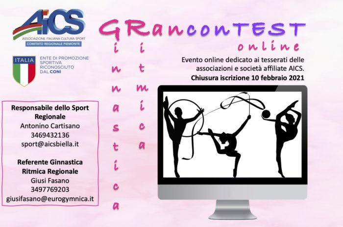 GINNASTICA RITMICA – GRanconTEST online 2021